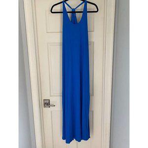 THREE DOTS Blue Maxi Dress XS